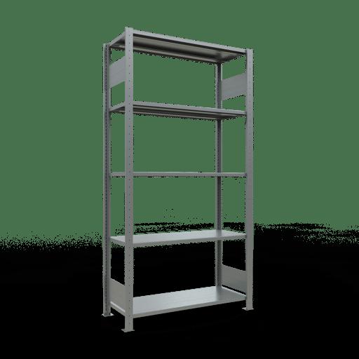 Steckregal Grundregal  2000x1000x400 mm,  Fachlast 150 kg mit Längenriegel SCHULTE Lagertechnik
