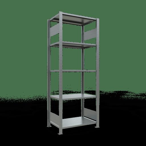 Steckregal Grundregal  2000x 750×500 mm,  Fachlast 150 kg mit Längenriegel SCHULTE Lagertechnik