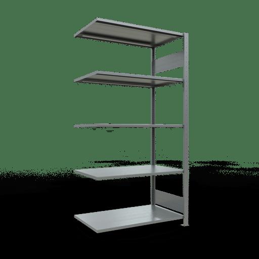 Steckregal Anbauregal  2000x1000x600 mm,  Fachlast 150 kg mit Längenriegel SCHULTE Lagertechnik