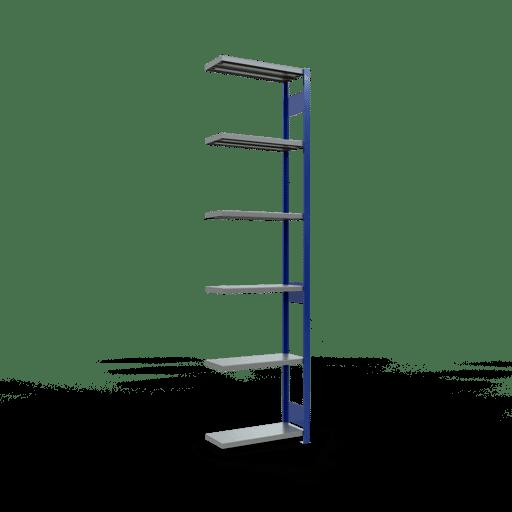 Steckregal Anbauregal  3000x 750×300 mm, Fachlast 250 kg mit Längenriegel SCHULTE Lagertechnik