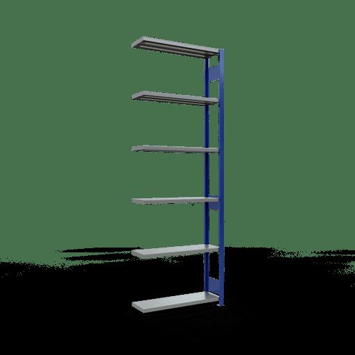 Steckregal Anbauregal  3000x1000x300 mm, Fachlast 250 kg mit Längenriegel SCHULTE Lagertechnik