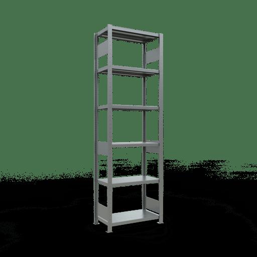 Steckregal Grundregal  2500x 750×400 mm, Fachlast 250 kg mit Längenriegel SCHULTE Lagertechnik