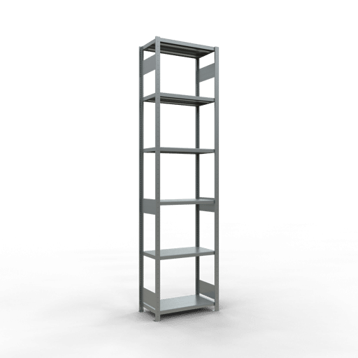 Steckregal Grundregal  3000x 750×400 mm, Fachlast 250 kg mit Längenriegel SCHULTE Lagertechnik