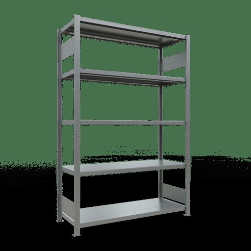Steckregal Grundregal  2000x1300x500 mm, Fachlast 250 kg mit Längenriegel SCHULTE Lagertechnik