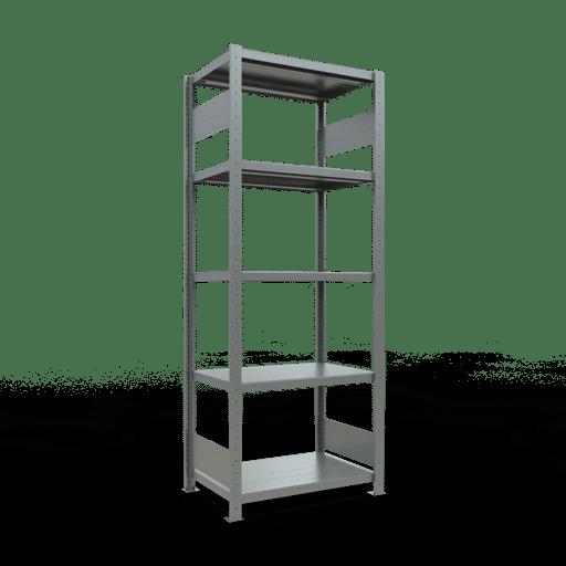 Steckregal Grundregal  2000x 750×500 mm, Fachlast 250 kg mit Längenriegel SCHULTE Lagertechnik