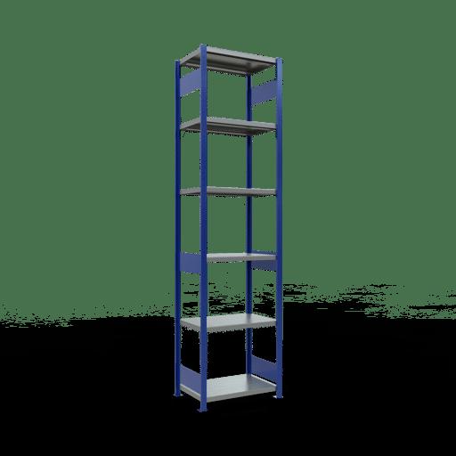 Steckregal Grundregal  3000x 750×500 mm, Fachlast 250 kg mit Längenriegel SCHULTE Lagertechnik