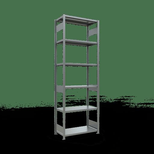 Steckregal Grundregal  3000x1000x500 mm, Fachlast 250 kg mit Längenriegel SCHULTE Lagertechnik