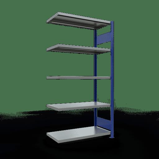 Steckregal Anbauregal  2000x1000x500 mm, Fachlast 250 kg mit Längenriegel SCHULTE Lagertechnik