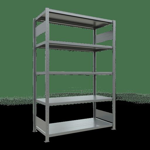 Steckregal Grundregal  2000x1300x600 mm, Fachlast 250 kg mit Längenriegel SCHULTE Lagertechnik