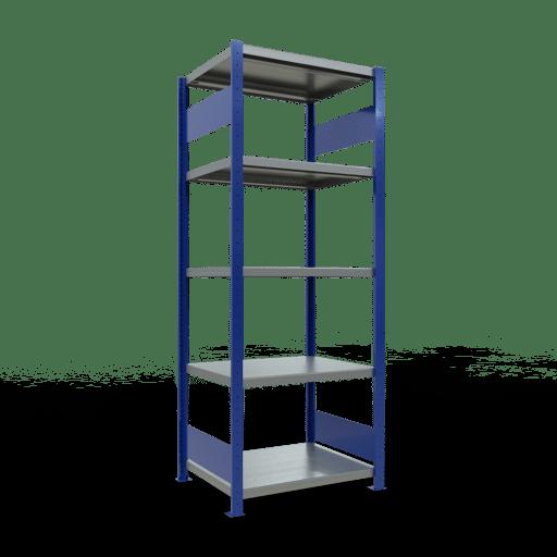 Steckregal Grundregal  2000x1000x600 mm, Fachlast 250 kg mit Längenriegel SCHULTE Lagertechnik