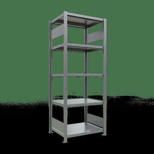 Steckregal Grundregal  2000x 750×600 mm, Fachlast 250 kg mit Längenriegel SCHULTE Lagertechnik