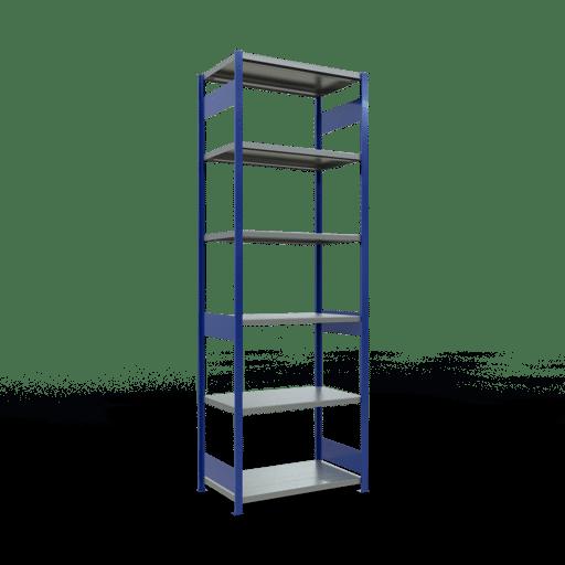 Steckregal Grundregal  3000x1000x600 mm, Fachlast 250 kg mit Längenriegel SCHULTE Lagertechnik