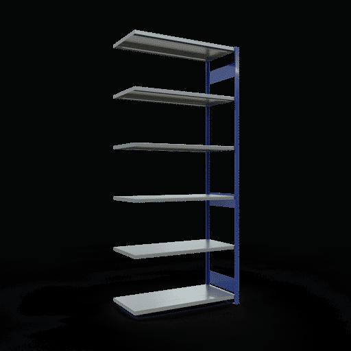 Steckregal Anbauregal  3000x1300x600 mm,Fachlast 250 kg mit Längenriegel SCHULTE Lagertechnik