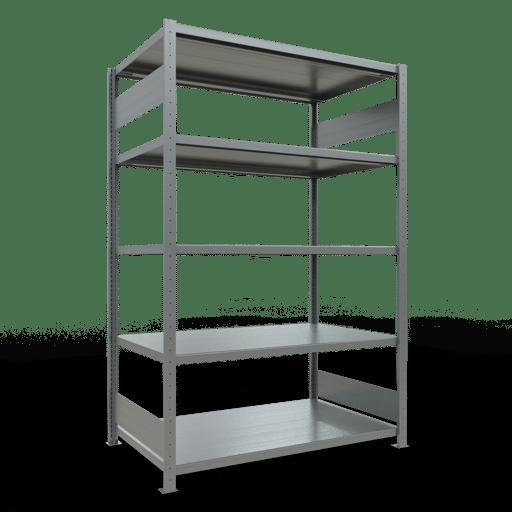 Steckregal Grundregal  2000x1300x800 mm, Fachlast 250 kg mit Längenriegel SCHULTE Lagertechnik