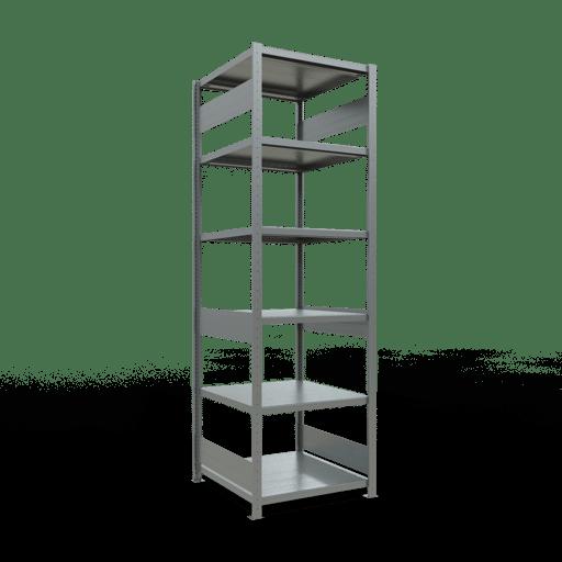 Steckregal Grundregal  2500x 750×800 mm, Fachlast 250 kg mit Längenriegel SCHULTE Lagertechnik