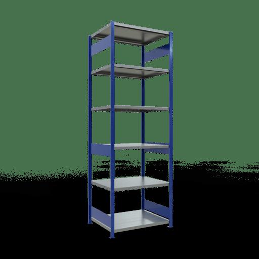 Steckregal Grundregal  3000x1000x800 mm, Fachlast 250 kg mit Längenriegel SCHULTE Lagertechnik