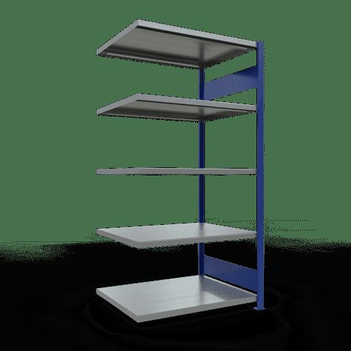 Steckregal Anbauregal  2000x1000x800 mm, Fachlast 250 kg mit Längenriegel SCHULTE Lagertechnik