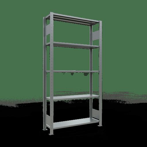 Steckregal Grundregal  2000x1000x300 mm, Fachlast 85 kg mit Längenriegel SCHULTE Lagertechnik