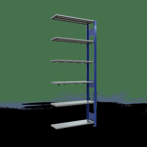 Steckregal Anbauregal  2500x1000x300 mm, Fachlast 85 kg mit Längenriegel SCHULTE Lagertechnik