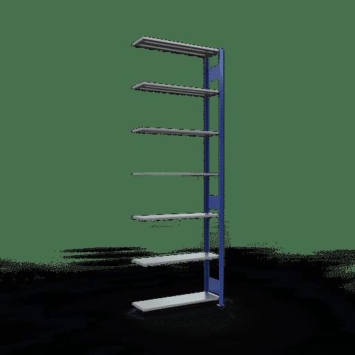Steckregal Anbauregal  3000x1000x300 mm, Fachlast 85 kg mit Längenriegel SCHULTE Lagertechnik