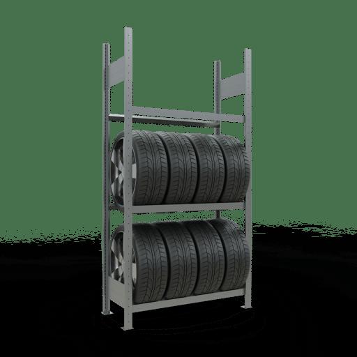 Reifenregal SCHULTE Lagertechnik 13900_anwendungsbild