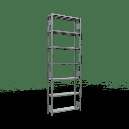 Steckregal Grundregal  3000x1000x300 mm,  Fachlast 330 kg mit Längenriegel SCHULTE Lagertechnik