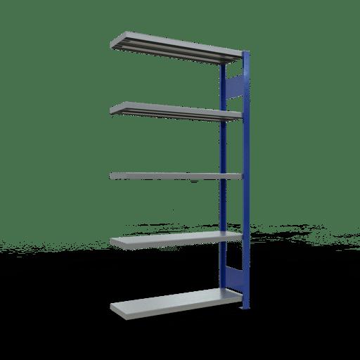 Steckregal Anbauregal  2000x1000x300 mm,  Fachlast 330 kg mit Längenriegel SCHULTE Lagertechnik