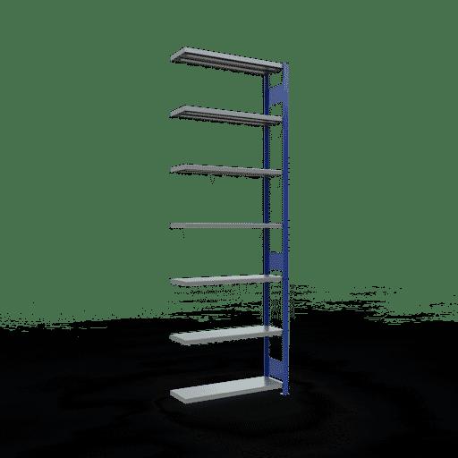 Steckregal Anbauregal  3000x1000x300 mm,  Fachlast 330 kg mit Längenriegel SCHULTE Lagertechnik