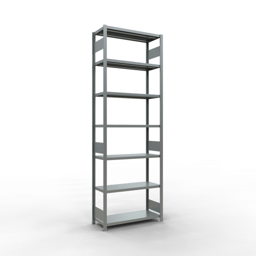 Steckregal Grundregal  3000x1000x400 mm,  Fachlast 330 kg mit Längenriegel SCHULTE Lagertechnik