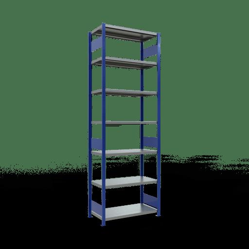 Steckregal Grundregal  3000x1000x500 mm,  Fachlast 330 kg mit Längenriegel SCHULTE Lagertechnik