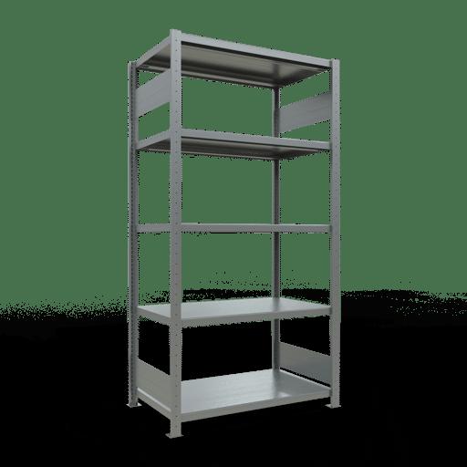 Steckregal Grundregal  2000x1000x600 mm  Fachlast 330 kg mit Längenriegel SCHULTE Lagertechnik