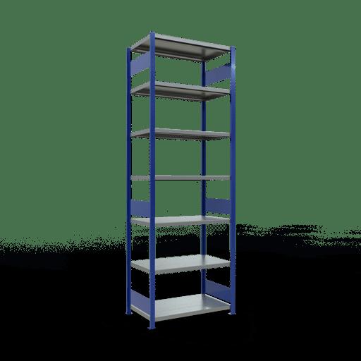 Steckregal Grundregal  3000x1000x600 mm,  Fachlast 330 kg mit Längenriegel SCHULTE Lagertechnik