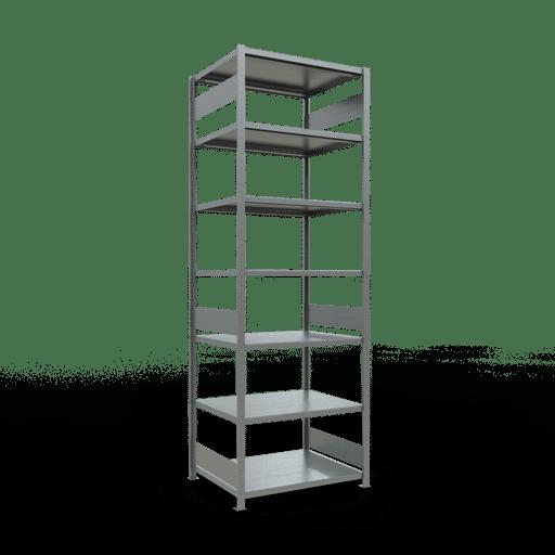 Steckregal Grundregal  3000x1000x800 mm  Fachlast 330 kg mit Längenriegel SCHULTE Lagertechnik