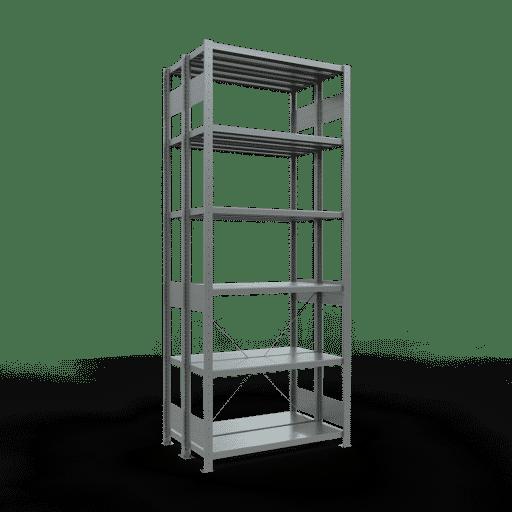 Doppelregal Grundregal Stecksystem 2000x1000x2x300 mm 2×5 Fachböden 250 kg Fachlast SCHULTE Lagertechnik