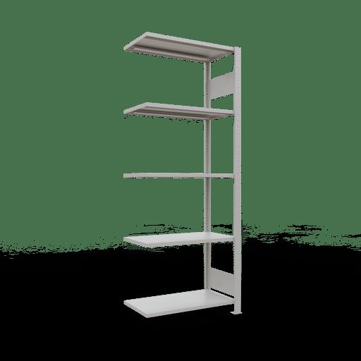 Steckregal Anbauregal  2000x 750×400 mm,  Fachlast 150 kg Rahmen montiert mit Längenriegel SCHULTE Lagertechnik
