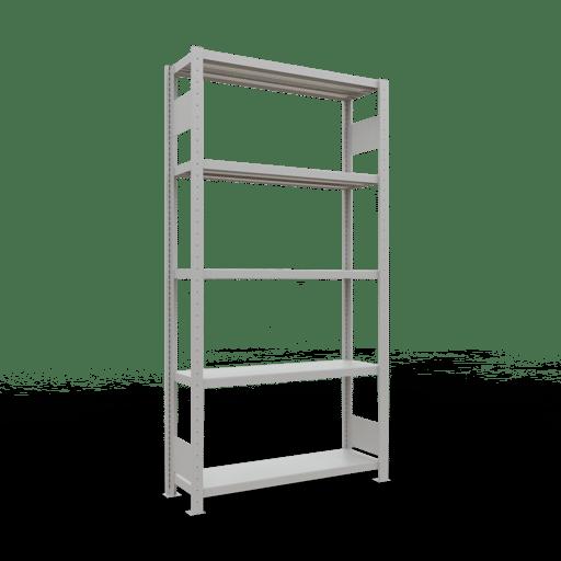 Steckregal Grundregal 2000x1000x300 mm,  Fachlast 330 kg mit Längenriegel SCHULTE Lagertechnik
