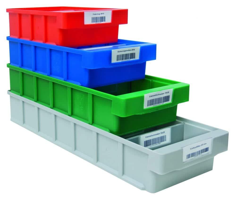 Regalkasten für Regale SCHULTE Lagertechnik VKB 500x152x83 mm – grün, aus Polypropylen