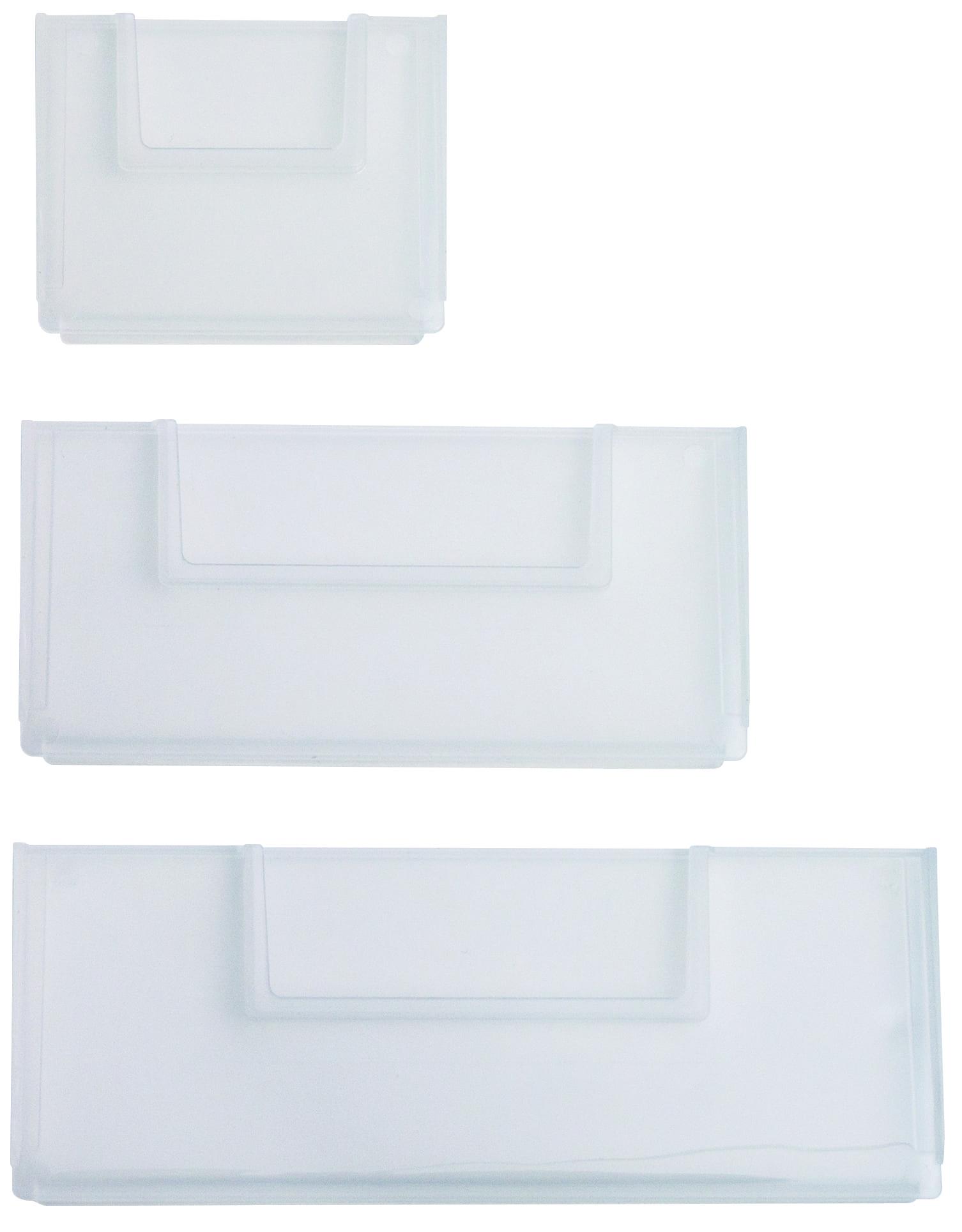 Trennwand Transparent,  93 mm – zur variablen Unterteilung