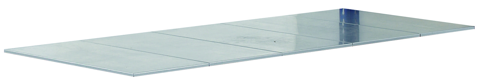 Stahlpaneel-Ebene 2450×926 mm – verzinkt