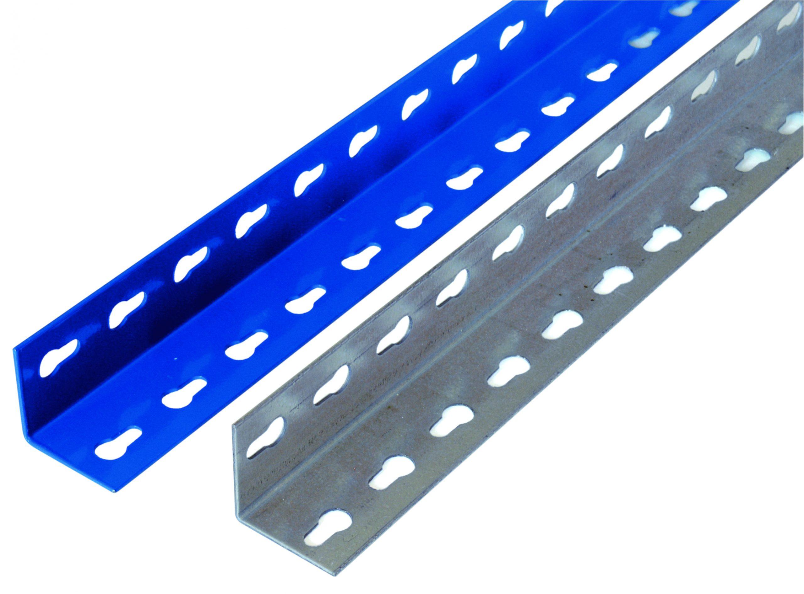 Winkelprofil für Weitspannregal Z1 R1-2438 mm, blau