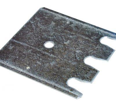 Unterlegplatte 2 mm für S635-B20 und S645-B25