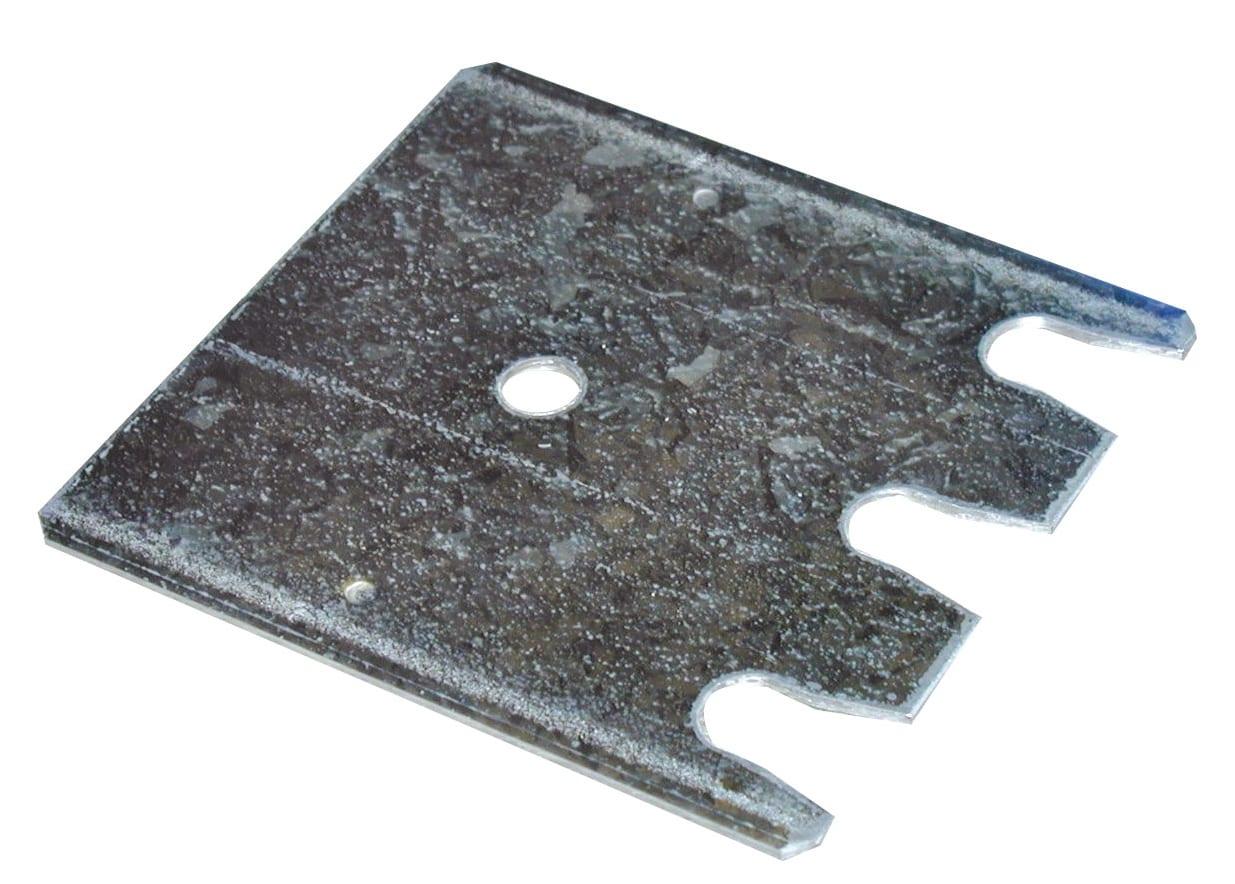 Stück Unterlegblech 145x200x2 mm – für S635-B20 und S645-B25