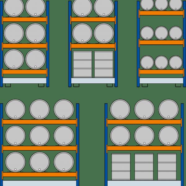 2500 x 2225 x 800 mm