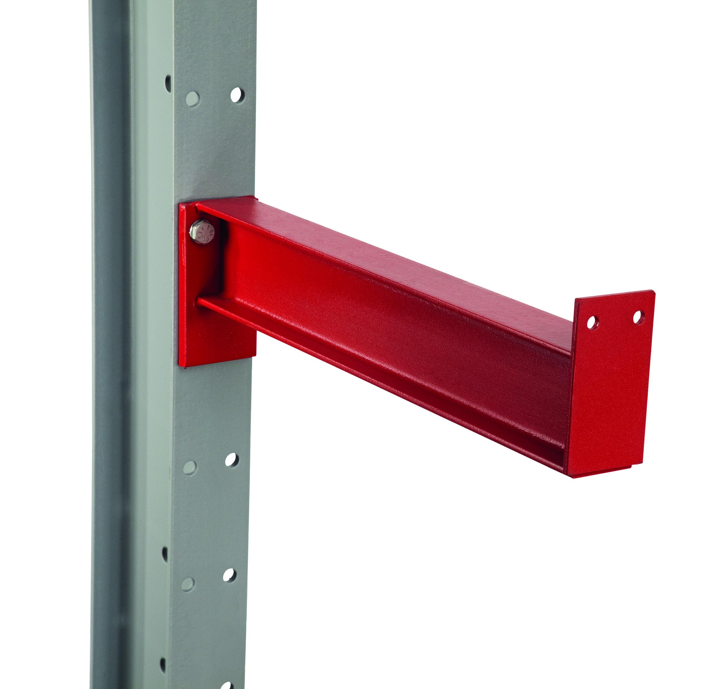 K 3000 Kragarm mit fester Abroll- – sicherung und für Stahlfachböden