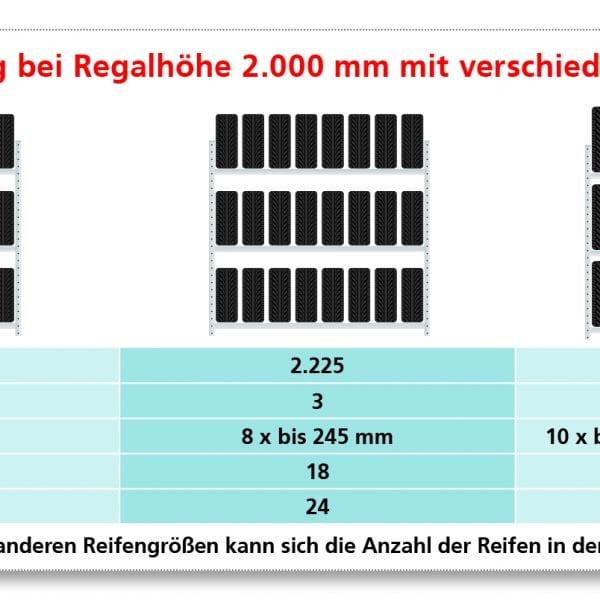 2750 x 2250 x 400 mm