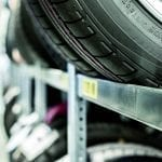 Großfach-Räder-/Reifenregal