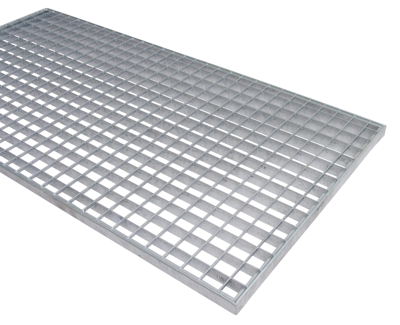 Zusatzeb. Gitterrost 1000×500 mm – Masche 30×30, Tragstab 25×2 mm (BxT)