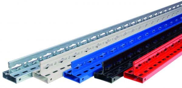 MULTIplus T-Profil 7500 mm RAL 5010 enzianblau