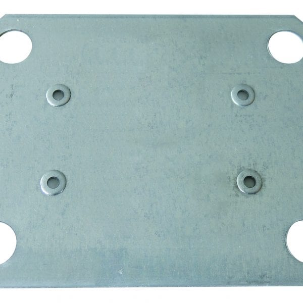 Unterlegplatte 2 mm für MULTIplus Doppel-Klemmfuß