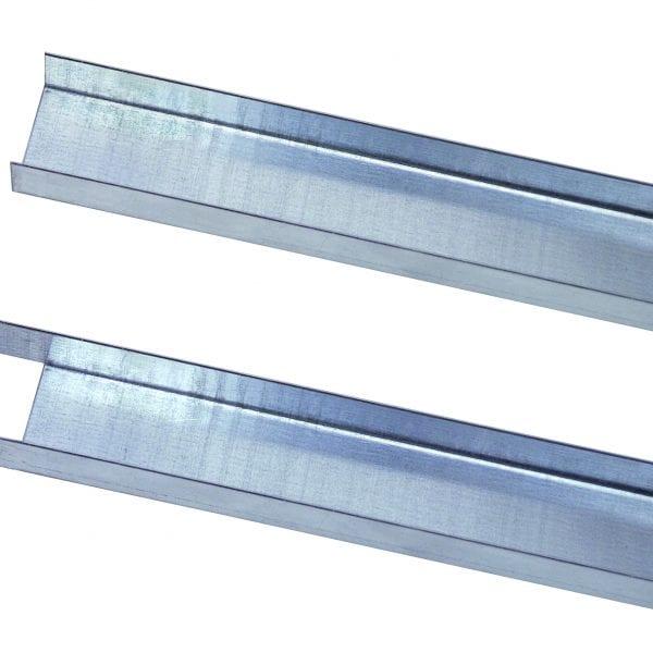 Füll-Leiste 1300 mm für Doppelregale